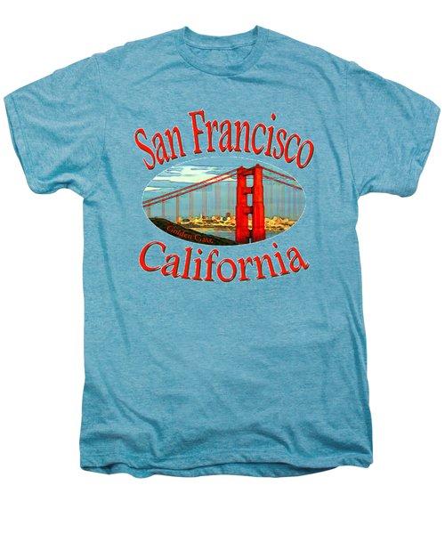 San Francisco California - Tshirt Design Men's Premium T-Shirt by Art America Online Gallery