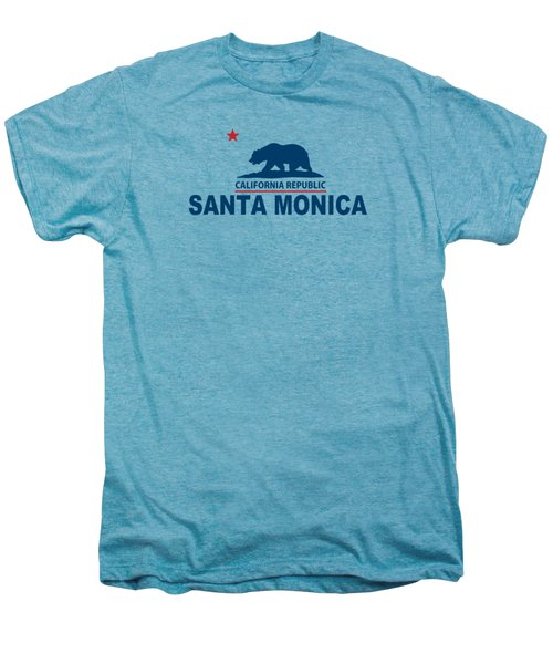 Santa Monica Men's Premium T-Shirt by American Roadside