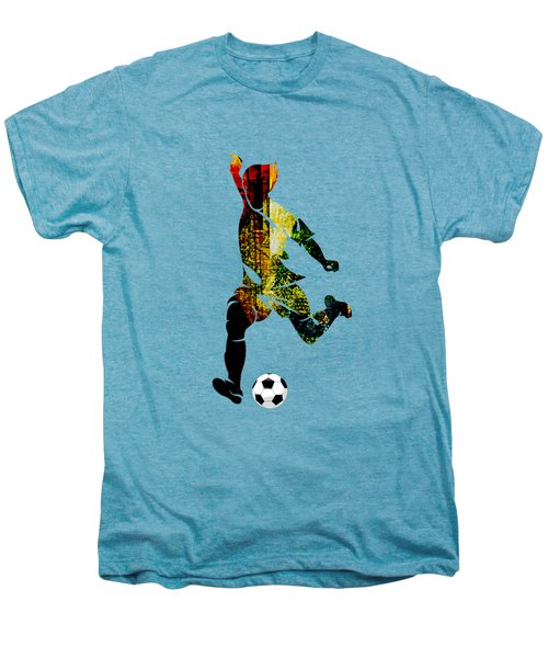 Soccer Collection Men's Premium T-Shirt by Marvin Blaine