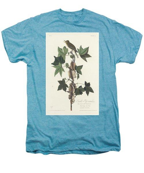 Traill's Flycatcher Men's Premium T-Shirt by John James Audubon