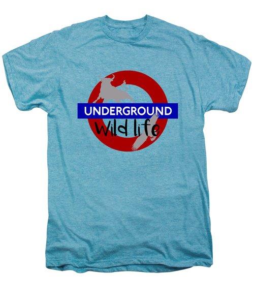 Underground.2 Men's Premium T-Shirt by Alberto RuiZ