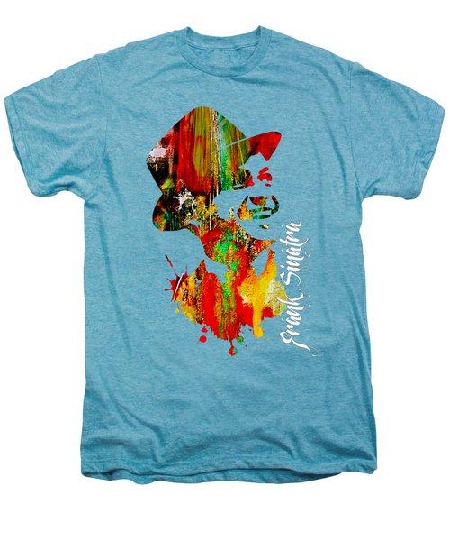 Frank Sinatra Collection Men's Premium T-Shirt by Marvin Blaine