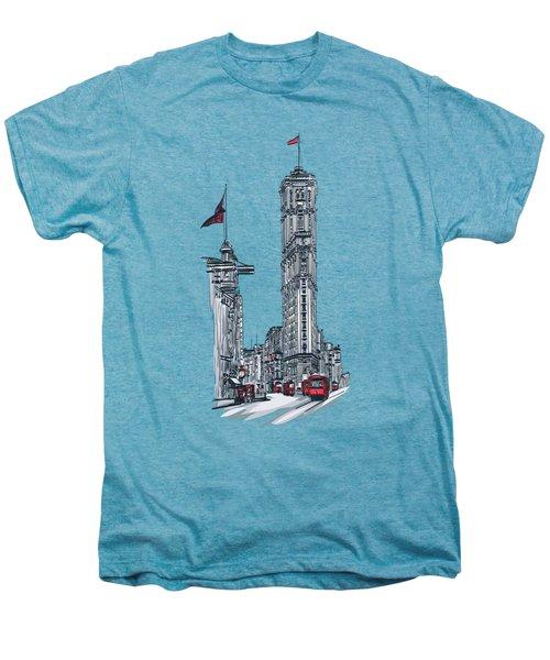 1908 Times Square,ny Men's Premium T-Shirt by Andrzej Szczerski