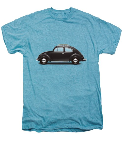 1953 Volkswagen Sedan - Black Men's Premium T-Shirt by Ed Jackson