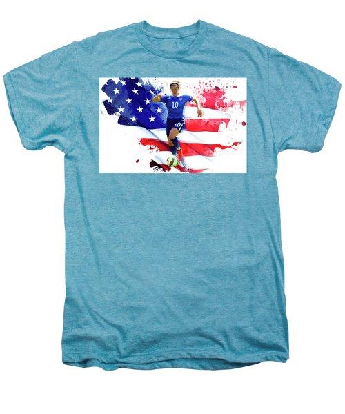 Carli Lloyd Men's Premium T-Shirt by Semih Yurdabak