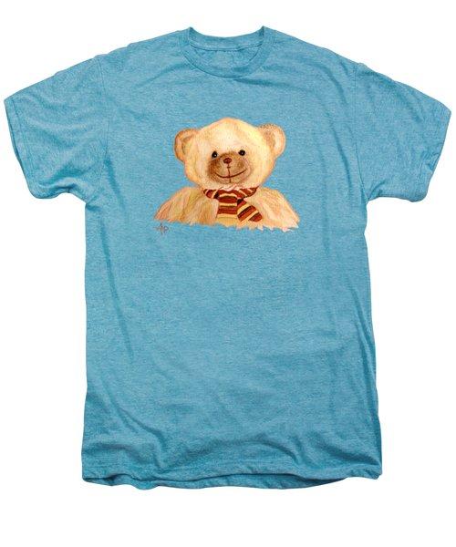 Cuddly Bear Men's Premium T-Shirt by Angeles M Pomata