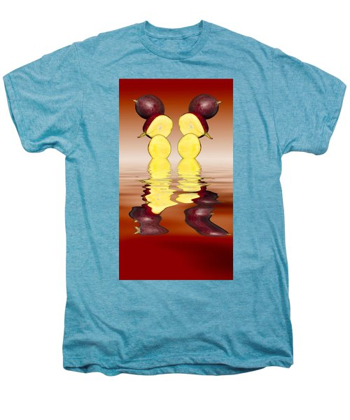 Fresh Ripe Mango Fruits Men's Premium T-Shirt by David French
