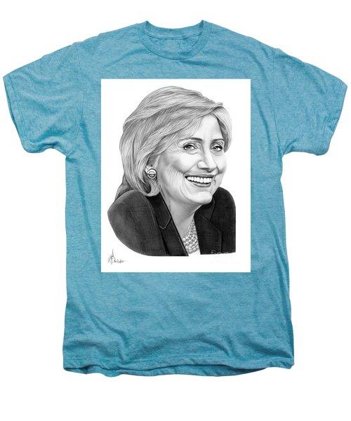 Hillary Clinton Men's Premium T-Shirt by Murphy Elliott