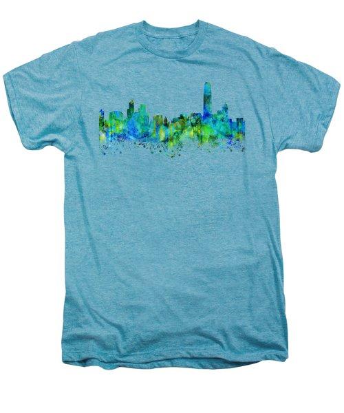 Hong Kong Men's Premium T-Shirt by JW Digital Art