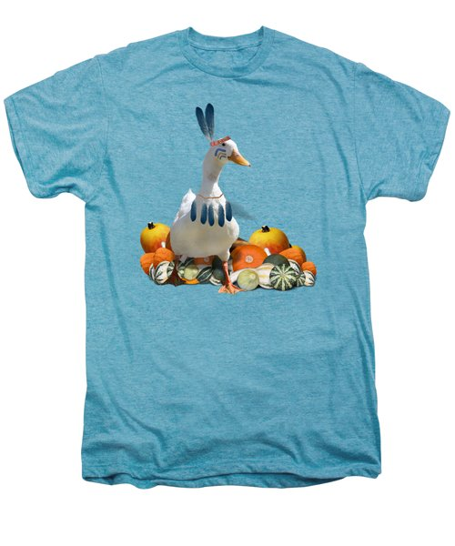 Indian Duck Men's Premium T-Shirt by Gravityx9 Designs