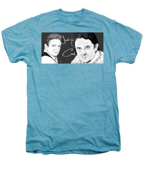 Johnny Cash Men's Premium T-Shirt by Bill Richards