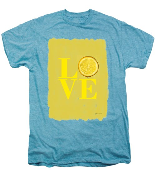 Lemon Men's Premium T-Shirt by Mark Rogan