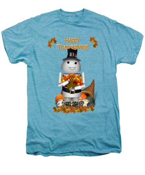 Robo-x9 The Pilgrim Men's Premium T-Shirt by Gravityx9  Designs