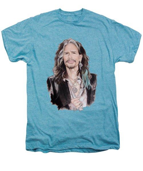 Steven Tyler  Men's Premium T-Shirt by Melanie D