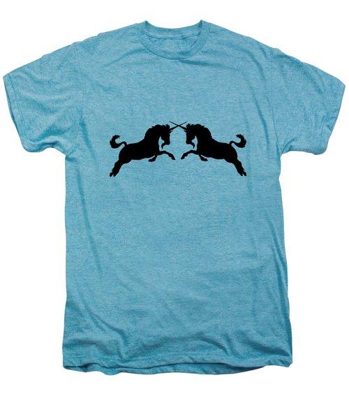 Unicorns Men's Premium T-Shirt by Mordax Furittus