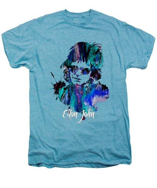 Elton John Collection Men's Premium T-Shirt by Marvin Blaine