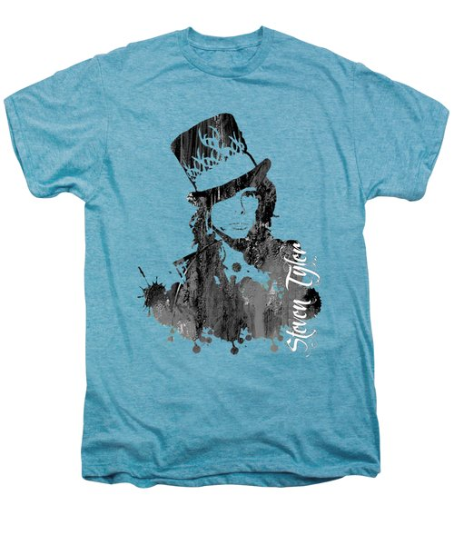 Steven Tyler Collection Men's Premium T-Shirt by Marvin Blaine