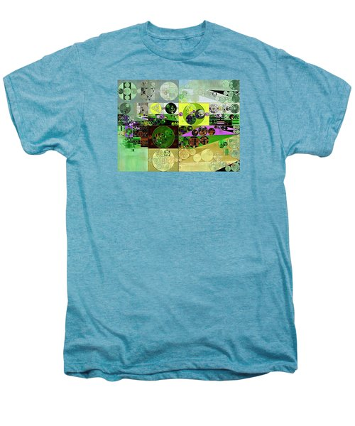 Abstract Painting - Black Bean Men's Premium T-Shirt by Vitaliy Gladkiy
