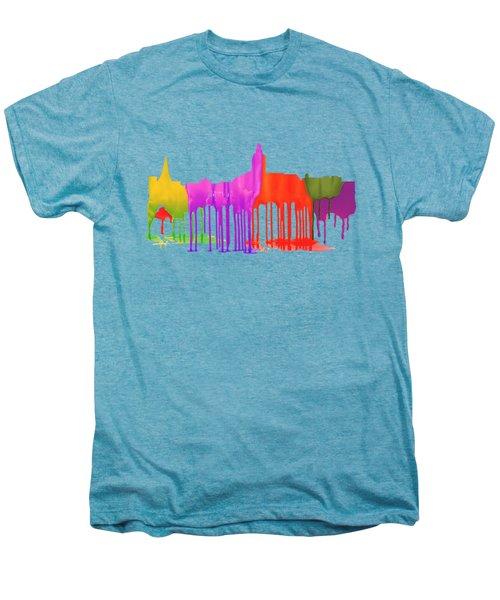 Annapolis Maryland Skyline      Men's Premium T-Shirt by Marlene Watson
