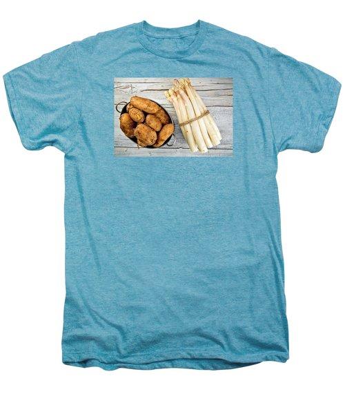 Asparagus Men's Premium T-Shirt by Nailia Schwarz