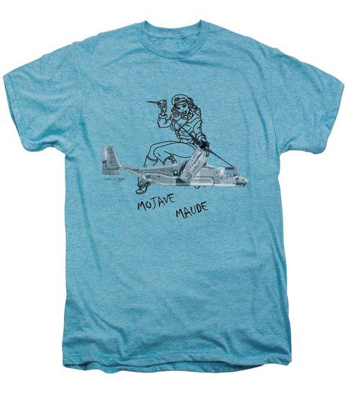Bell Boeing Cv-22b Osprey Mojave Maude Men's Premium T-Shirt by Arthur Eggers