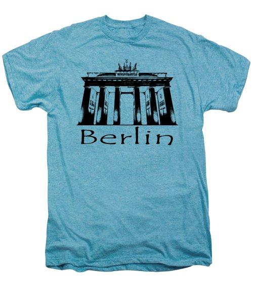 Brandenburg Gate Men's Premium T-Shirt by Julie Woodhouse