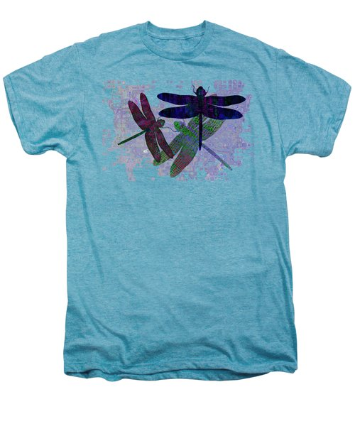 3 Dragonfly Men's Premium T-Shirt by Jack Zulli