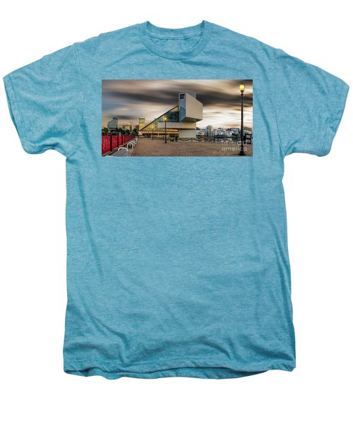 Rock And Roll Hall Of Fame Men's Premium T-Shirt by James Dean