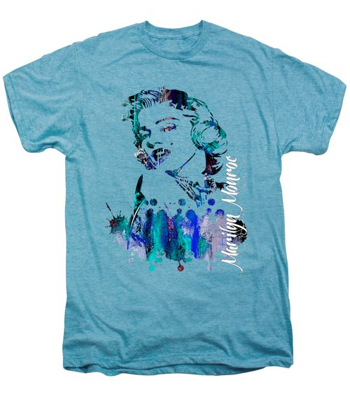 Marilyn Monroe Collection Men's Premium T-Shirt by Marvin Blaine