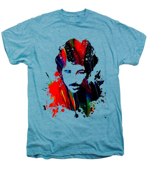 Bruce Springsteen Collection Men's Premium T-Shirt by Marvin Blaine