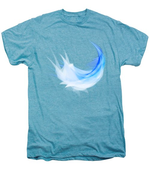 Abstract Feather Men's Premium T-Shirt by Setsiri Silapasuwanchai
