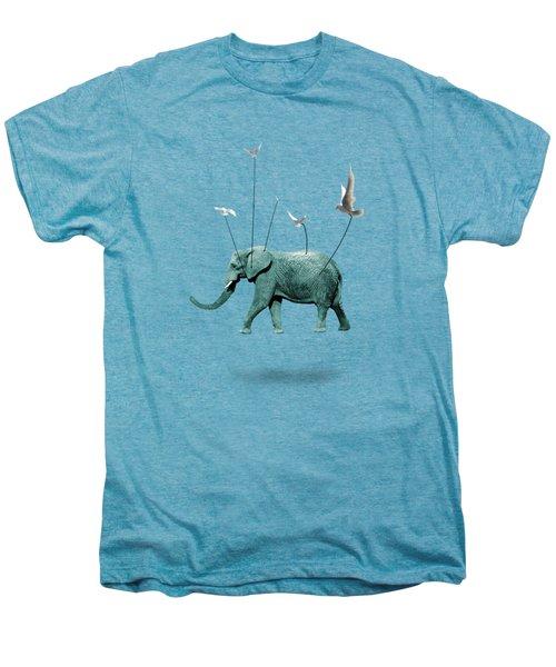 Elephant Men's Premium T-Shirt by Mark Ashkenazi