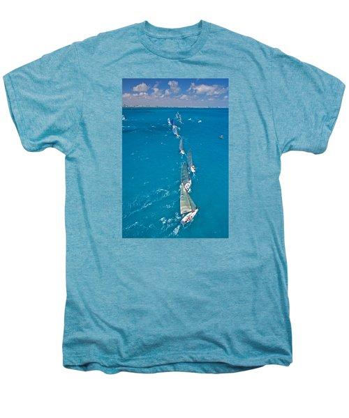From On High Men's Premium T-Shirt by Steven Lapkin