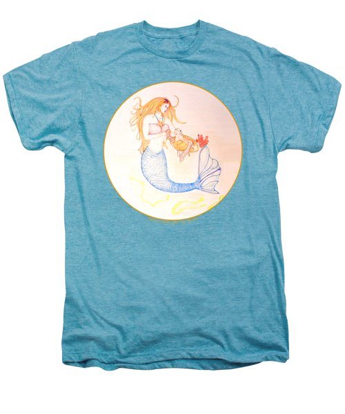 Mermaid Men's Premium T-Shirt by M Gilroy