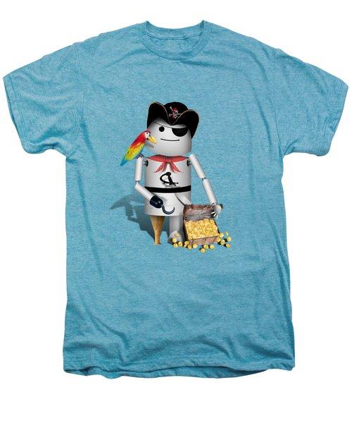Robo-x9 The Pirate Men's Premium T-Shirt by Gravityx9  Designs