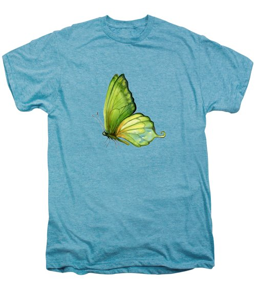 5 Sap Green Butterfly Men's Premium T-Shirt by Amy Kirkpatrick