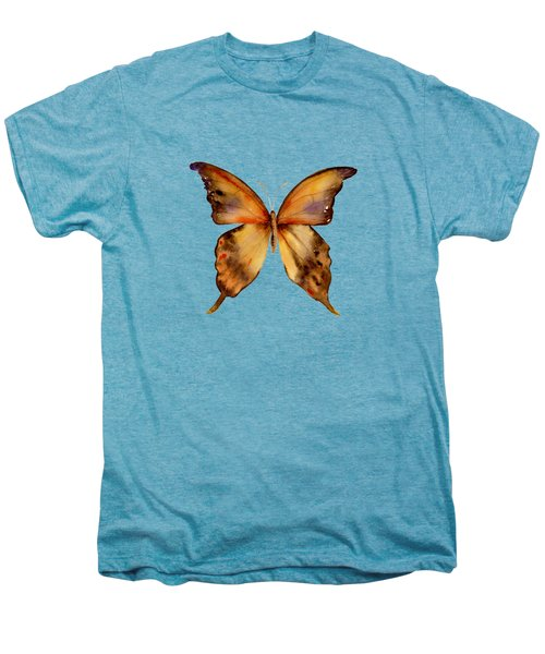7 Yellow Gorgon Butterfly Men's Premium T-Shirt by Amy Kirkpatrick