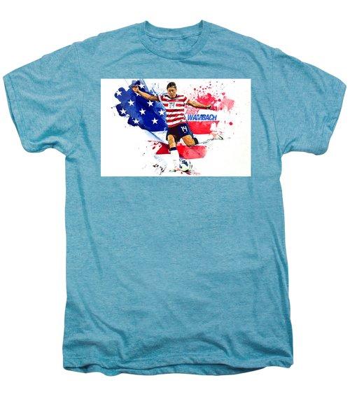 Abby Wambach Men's Premium T-Shirt by Semih Yurdabak