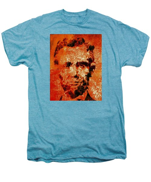 Abraham Lincoln 4d Men's Premium T-Shirt by Brian Reaves