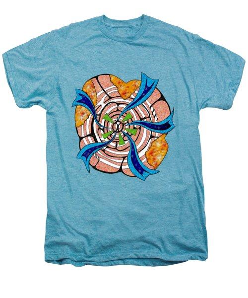 Abstract Digital Art - Ciretta V3 Men's Premium T-Shirt by Cersatti