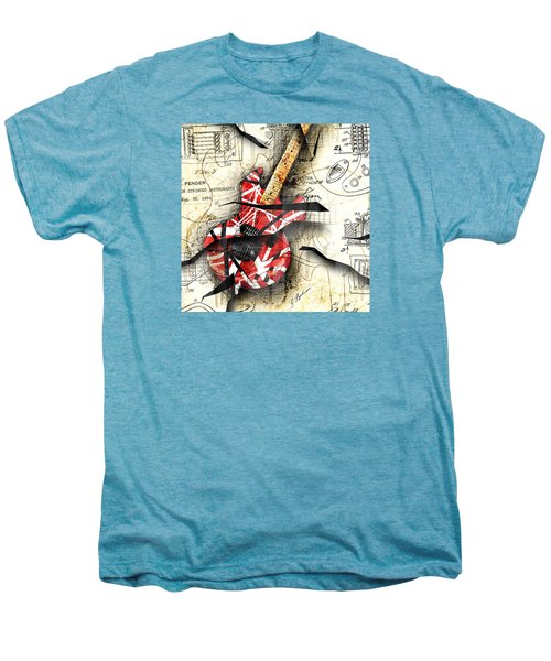Abstracta 35 Eddie's Guitar Men's Premium T-Shirt by Gary Bodnar