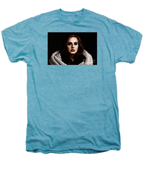 Adele Men's Premium T-Shirt by The DigArtisT