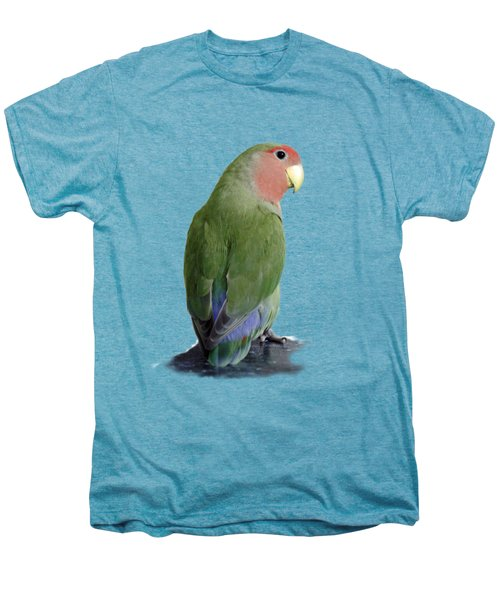 Adorable Pickle On A Transparent Background Men's Premium T-Shirt by Terri Waters