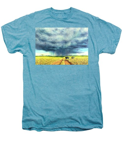 African Storm Men's Premium T-Shirt by Tilly Willis