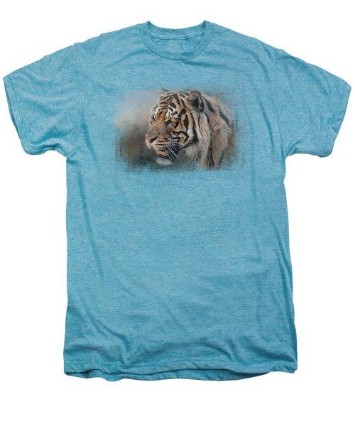Alert Bengal Men's Premium T-Shirt by Jai Johnson