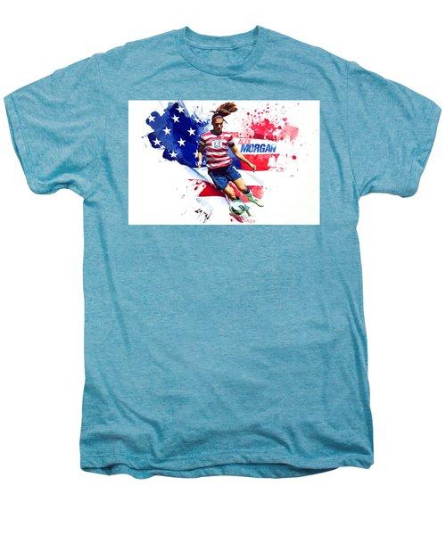 Alex Morgan Men's Premium T-Shirt by Semih Yurdabak