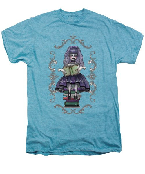 Alice In Another World 2 Men's Premium T-Shirt by Akiko Okabe