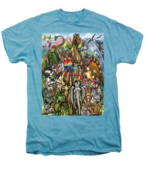 All Creatures Great Small Men's Premium T-Shirt by Kevin Middleton