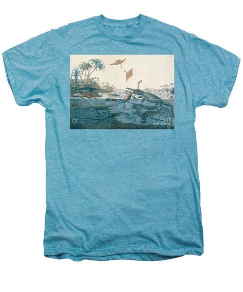 Ancient Dorset Men's Premium T-Shirt by Henry Thomas De La Beche