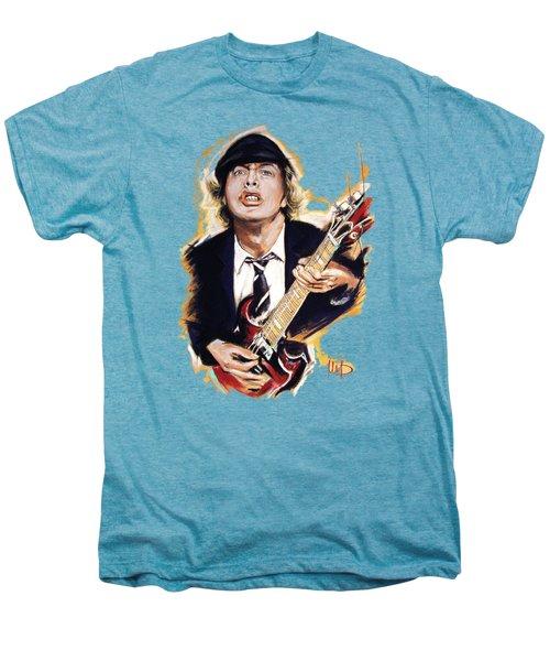 Angus Young Men's Premium T-Shirt by Melanie D